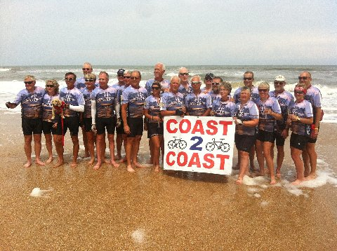 Coast to Coast Bicycle Tour