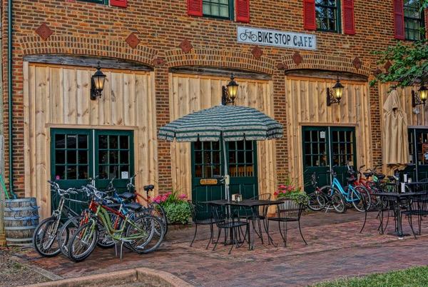 Bike Stop Cafe on Katy Trial