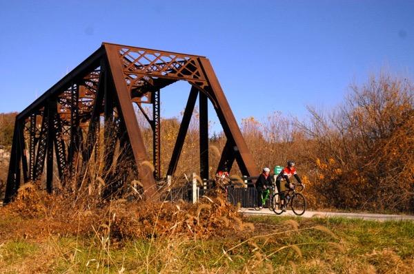 Bridge Crossing on Katy Trail