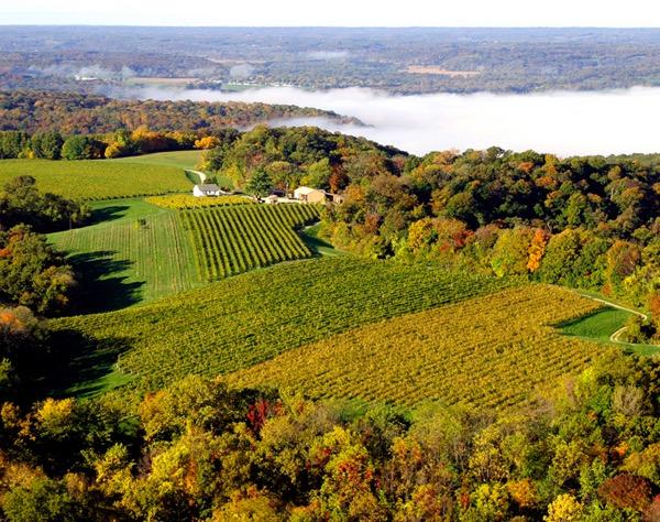 Stone Hill Winery in Hermann Missouri