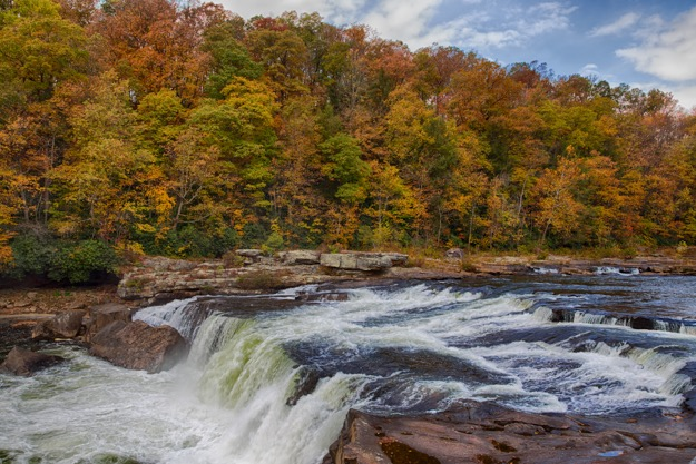 The Falls at Ohiopyle State Park